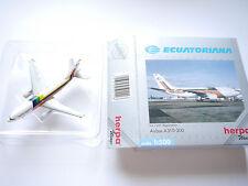 Airbus A 310-300 ECUATORIANA / HC-BRB, Herpa #501118 in 1:500 boxed