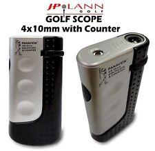 Golf Scope Rangefinder (4x10mm) & Stroke Counter