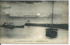 CPA 44 - the Bernerie - the Pier to the Clair de Lune