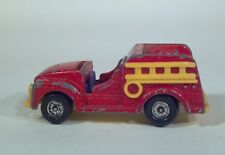 1966 Aviva United Feature Snoopy Fire Engine Ladder Truck Die Cast Scale Model