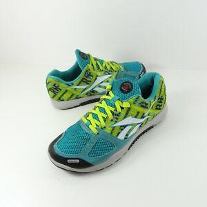 Reebok Women Shoe Crossfit Nano 2.0 Size 7 Green Sneaker Training