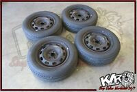 5x100 Stockies Rims With Near New Tyres - 11/04 VW Beetle 9C Spare Parts -  KLR