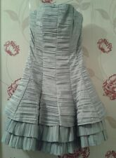 New Woman's The Vestry  Dress SILVER Size 8 Christmas Gift Party