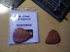 PLETTRO ARTIGIANALE IN PREGIATO LEGNO DI BUDINGA