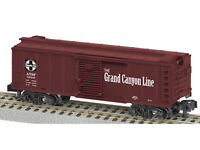 LIONEL 6-48852 AMERICAN FLYER AT&SF GRAND CANYON BOXCAR S GAUGE NEW IN BOX