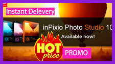 InPixio Photo Studio 10 ✅ Lifetime WIN ✅ Full version ✅ key✅DIGITAL Delevery