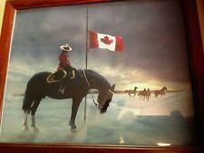 "The Fallen Four RCMP Mayerthorpe Commemorative Photographic Print Framed 9"" x 11"