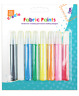 Fabric Paint Set for Textile Clothes T Shirt Paints Pens Colours 8 pack