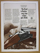 1978 Browning Citori Over-Under Shotgun vintage print Ad