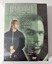 Video DVD - Highlander Series - Season One 9 Disc Box Set - NEW SEALED WORLDWIDE