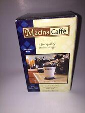 Macina Caffe Ghita FP905 Coffee Grinder New In Box.