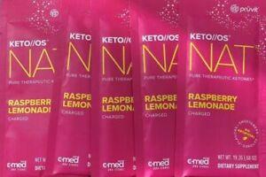 Pruvit Keto OS Nat Raspberry Lemonade- 5 pack