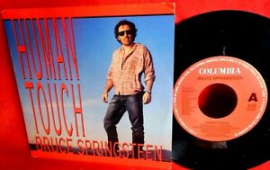 BRUCE SPRINGSTEEN Human touch 45rpm 7' + PS 1992 HOLLAND MINT-