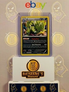 Tyranitar 56/124 NM/M MINT XY Fates Collide Holofoil Rare Holo Pokemon Card