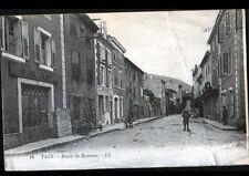 """TAIN-L'HERMITAGE (26) Ets """"CHAUX & CIMENT"""" & """"Ets DEBOST"""" Route de ROMANS animée"""