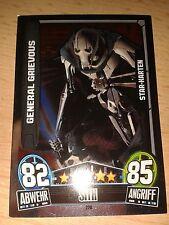 Force Attax Star Wars Serie Movie 3 Star-Karte 220 General Grievous Sammelkarte