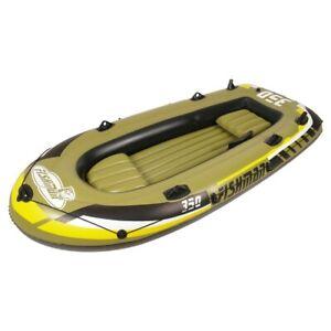 Jilong Fishman mit Pumpe + Paddel - Schlauchboot - Badeboot - Angelboot