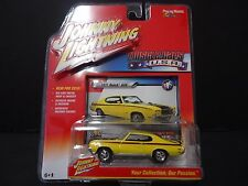 Johnny Lightning Buick GSX 1971 Yellow 1/64 JLMC001A