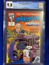 MOTORMOUTH & KILLPOWER #7 CGC 9.8 NM/MT CABLE after New Mutants 87 POP 1! Rare