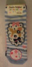 Sanrio Hummingmint Socks Set of 3 Pairs Blue Pink