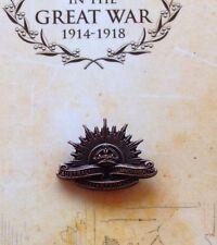 The Great War 3rd 1904 Rising Sun Lapel Pin on Card* NEW ANZAC Day 2015