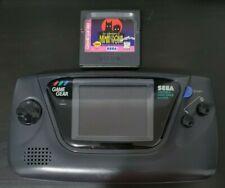 Sega Game Gear Console (Black) includes Batman & Robin - Speakers Not Working