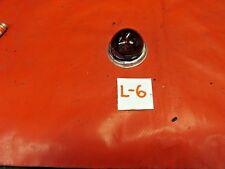 "MG, Triumph, Austin Healey, Liucas Glass ""Bee Hive"" Red Lens & Chrome Ring, !!"
