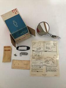 1965-1966 CHEVROLET PASSENGER OUTSIDE REAR SIDE MIRROR R.H. NOS GM # 986474