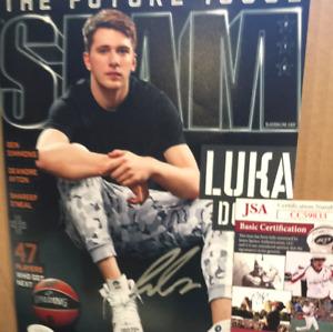 Luka Doncic autographed 8x10 color photo JSA