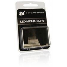 WHITE PYTHON METAL CLIPS FOR LED LIGHTS