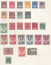 GOLD COAST  49 STAMPS BETWEEN 1928- 43 MINT AND USED. HIGH CAT.
