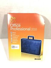 Microsoft Office Professional 2010 Software for Windows (Full Version) W/ CD Key