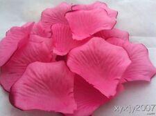 1,000 High Quality Fuchsia Rose Petal Wedding Party Decoration Favor