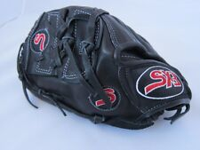 """Sx3 Pro Series Black & Red Baseball Glove Sx3000 Left 11.75"""" Solid"""