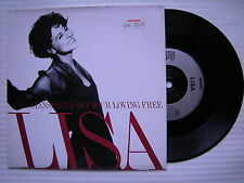 Lisa Stansfield - Définissez Votre Loving Free / Whenever You're Gone, Arista Ex
