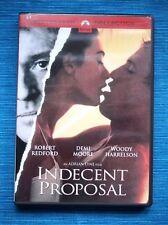 INDECENT PROPOSAL (Una Proposición Indecente. Demi Moore, Woody Harrelson -Lyne)