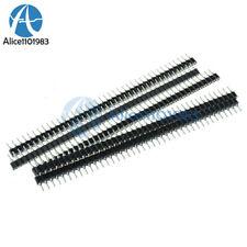 10PCS Strip Tin PCB Female IC Breakable 40pin Single Row Round Header Socket