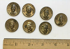 GROUP LOT VINTAGE CITGO CENTENNIAL SERIES BASEBALL COINS TOKENS HANK AARON 1969