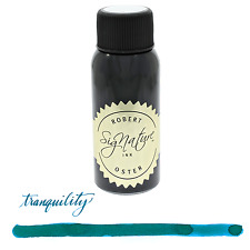 Robert Oster Signature Tranquility Blue Green 50ml Bottled Ink for Fountain Pens