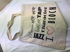 Bloch Dance Tote Bag, Hip Hop, Balletto, Rubinetto, JAZZ