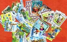 DISNEY lot de 50 timbres neufs et oblitéres tous différents. Satisfaction assuré