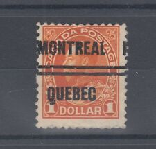 QUEBEC #4-122 $1.00 Admiral precancel Canada shifted
