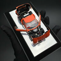 New 1/43 AUTOart Lamborghini Miura SV diecast open close car model Orange 54542