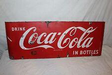 Placa de porcelana da Coca-Cola