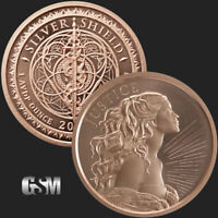 1 oz Copper Round - Justice