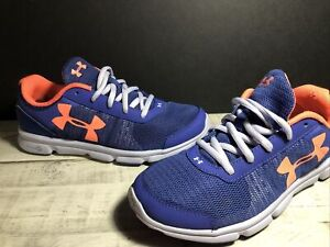 UNDER ARMOUR Womens 5Y Micro G Fitness  Running Shoes  Purple