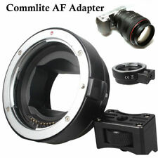 Commlite AF Adapter for Canon EOS EF EF-S lens to Sony NEX E-mount Camera Kit
