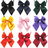 Fashion Women Ladies Girls Satin Novelty Big Bow Tie Wedding Business Attire Tie