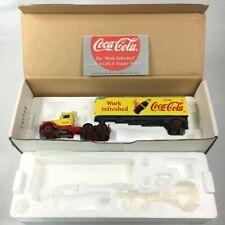 Matchbox Collectible WORK REFRESHED COCA-COLA Coke Tractor Trailer Peterbilt COA