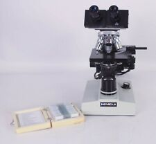 Meiji Techno16841 Compound Binocular Microscope Objective 4x 10x 40x 100x